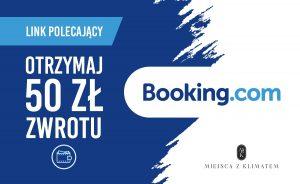 link polecający booking